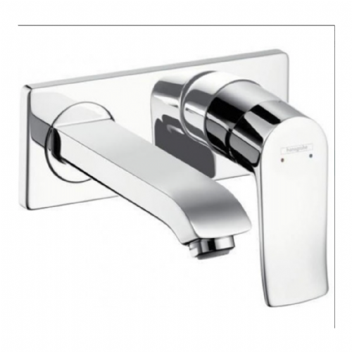 Hansgrohe Wall Mounted Metris Basin Mixer For Concealed Installation - Model 31085000